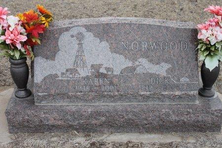 NORWOOD, DICK - Kit Carson County, Colorado | DICK NORWOOD - Colorado Gravestone Photos