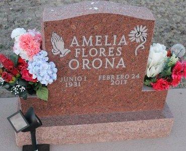 ORONA, AMELIA FLORES - Kit Carson County, Colorado | AMELIA FLORES ORONA - Colorado Gravestone Photos