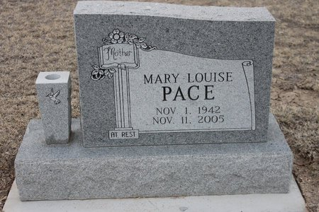 PACE, MARY LOUISE - Kit Carson County, Colorado | MARY LOUISE PACE - Colorado Gravestone Photos