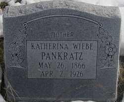 PANKRATZ, KATHARINA - Kit Carson County, Colorado | KATHARINA PANKRATZ - Colorado Gravestone Photos