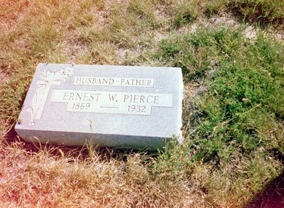 W. PIERCE, ERNEST - Kit Carson County, Colorado | ERNEST W. PIERCE - Colorado Gravestone Photos