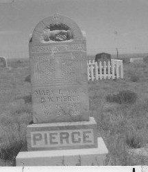 ELIZABETH PIERCE, MARY - Kit Carson County, Colorado | MARY ELIZABETH PIERCE - Colorado Gravestone Photos