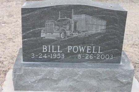 POWELL, BILL - Kit Carson County, Colorado   BILL POWELL - Colorado Gravestone Photos