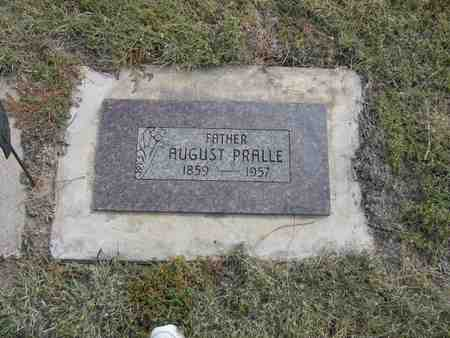 PRALLE, AUGUST - Kit Carson County, Colorado | AUGUST PRALLE - Colorado Gravestone Photos