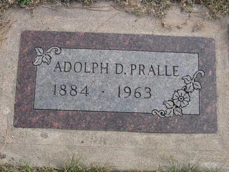 PRALLE, ADOLPH - Kit Carson County, Colorado   ADOLPH PRALLE - Colorado Gravestone Photos