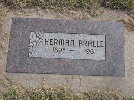 PRALLE, HERMAN - Kit Carson County, Colorado   HERMAN PRALLE - Colorado Gravestone Photos