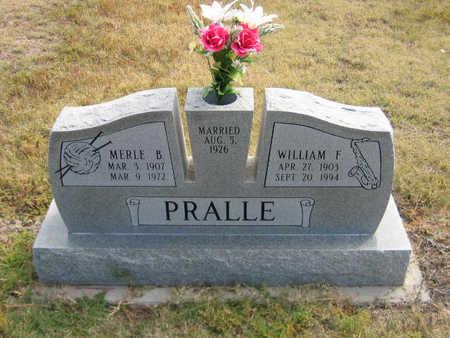 PRALLE, WILLIAM - Kit Carson County, Colorado | WILLIAM PRALLE - Colorado Gravestone Photos