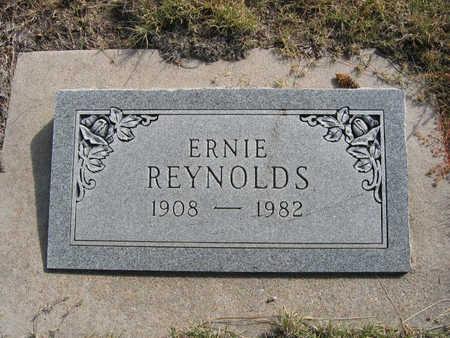 REYNOLDS, ERNIE - Kit Carson County, Colorado | ERNIE REYNOLDS - Colorado Gravestone Photos
