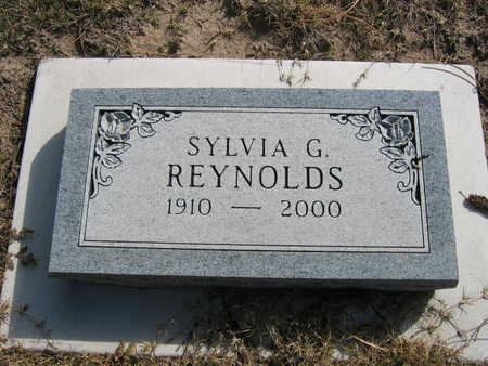 REYNOLDS, SYLVIA - Kit Carson County, Colorado   SYLVIA REYNOLDS - Colorado Gravestone Photos