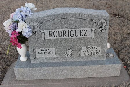 RODRIGUEZ, PAULA - Kit Carson County, Colorado   PAULA RODRIGUEZ - Colorado Gravestone Photos