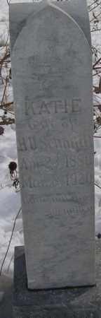 BOESE SCHMIDT, KATHARINA J. - Kit Carson County, Colorado | KATHARINA J. BOESE SCHMIDT - Colorado Gravestone Photos
