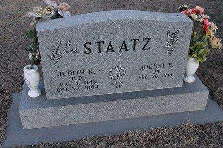 STAATZ, AUGUST B (JR) - Kit Carson County, Colorado | AUGUST B (JR) STAATZ - Colorado Gravestone Photos
