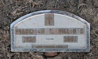 VILLEGAS, FRANCISCO T - Kit Carson County, Colorado | FRANCISCO T VILLEGAS - Colorado Gravestone Photos