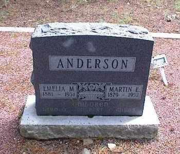 ANDERSON, EMELIA M. - Lake County, Colorado | EMELIA M. ANDERSON - Colorado Gravestone Photos