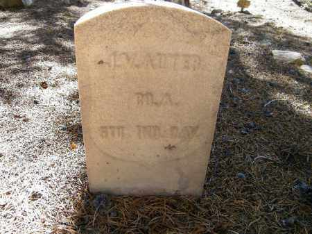 AUTER, J V - Lake County, Colorado | J V AUTER - Colorado Gravestone Photos