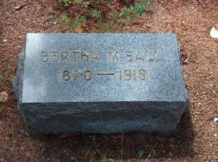 BALL, BERTHA - Lake County, Colorado   BERTHA BALL - Colorado Gravestone Photos