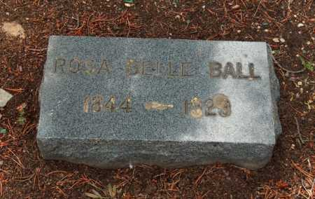 BALL, ROSA BELLE - Lake County, Colorado | ROSA BELLE BALL - Colorado Gravestone Photos