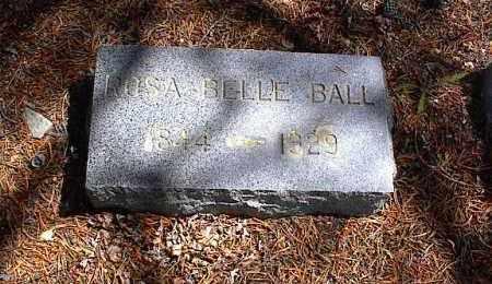 BALL, ROSA BELLE - Lake County, Colorado | ROSA BELLE BALL - Colorado Gravestone Photos