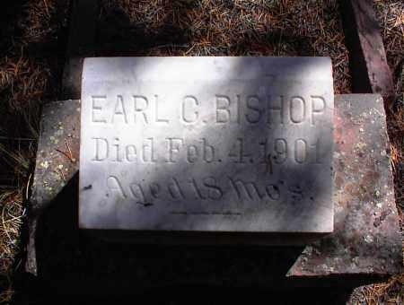 BISHOP, EARL G. - Lake County, Colorado | EARL G. BISHOP - Colorado Gravestone Photos