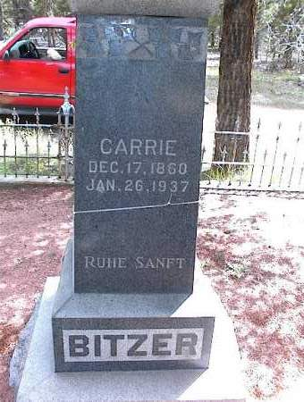 BITZER, CARRIE - Lake County, Colorado | CARRIE BITZER - Colorado Gravestone Photos
