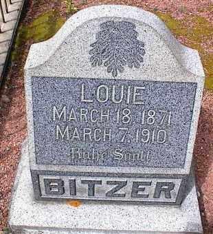 BITZER, LOUIE - Lake County, Colorado | LOUIE BITZER - Colorado Gravestone Photos