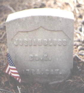 BLOSS, JOSIAH - Lake County, Colorado | JOSIAH BLOSS - Colorado Gravestone Photos