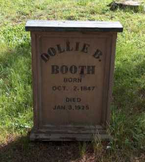 BOOTH, DOLLIE B - Lake County, Colorado   DOLLIE B BOOTH - Colorado Gravestone Photos