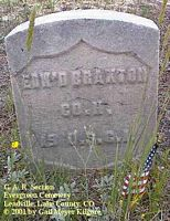 BRAXTON, EDWARD - Lake County, Colorado | EDWARD BRAXTON - Colorado Gravestone Photos