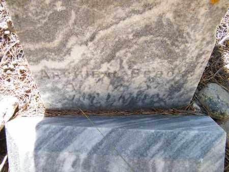 BROOKS, ARCHIBAL - Lake County, Colorado | ARCHIBAL BROOKS - Colorado Gravestone Photos