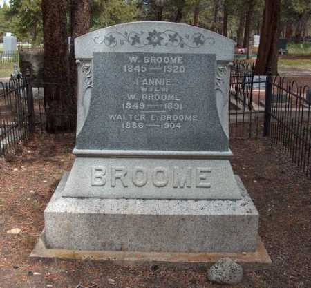 BROOME, WALTER E. - Lake County, Colorado | WALTER E. BROOME - Colorado Gravestone Photos