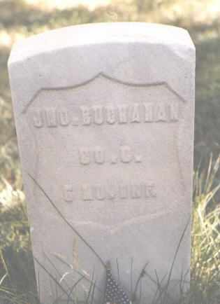 BUCHANAN, JNO. - Lake County, Colorado | JNO. BUCHANAN - Colorado Gravestone Photos