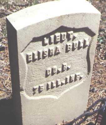 BULL, ELISHA - Lake County, Colorado   ELISHA BULL - Colorado Gravestone Photos