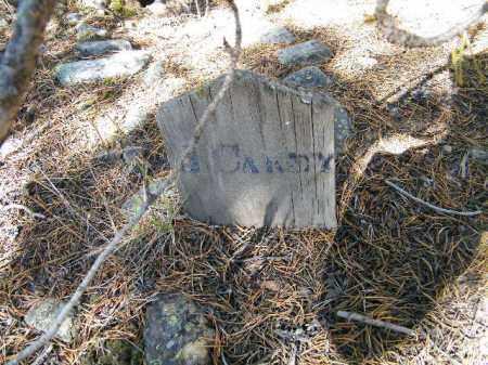 CANDY, J. - Lake County, Colorado | J. CANDY - Colorado Gravestone Photos