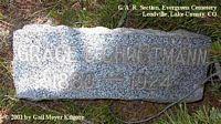 CHRISTMANN, GRACE - Lake County, Colorado | GRACE CHRISTMANN - Colorado Gravestone Photos