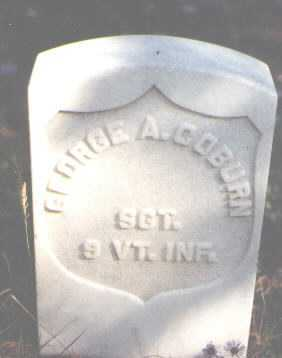 COBURN, GEORGE A. - Lake County, Colorado | GEORGE A. COBURN - Colorado Gravestone Photos