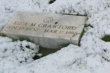 CRAWFORD, EILA - Lake County, Colorado   EILA CRAWFORD - Colorado Gravestone Photos