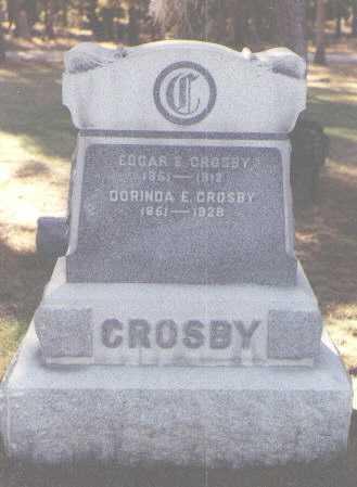CROSBY, DORINDA E. - Lake County, Colorado | DORINDA E. CROSBY - Colorado Gravestone Photos