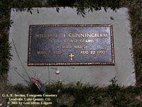 CUNNINGHAM, WILLIAM H. - Lake County, Colorado | WILLIAM H. CUNNINGHAM - Colorado Gravestone Photos