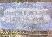 DELKER, JAMES F. - Lake County, Colorado   JAMES F. DELKER - Colorado Gravestone Photos