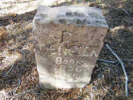 DENGLER, D. E. - Lake County, Colorado | D. E. DENGLER - Colorado Gravestone Photos