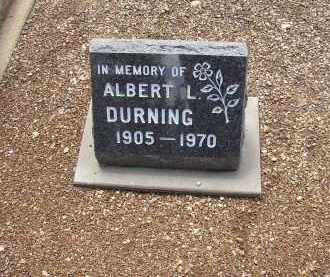 DURNING, ALBERT L. - Lake County, Colorado | ALBERT L. DURNING - Colorado Gravestone Photos
