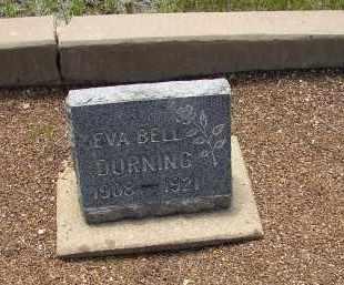 DURNING, EVA BELL - Lake County, Colorado   EVA BELL DURNING - Colorado Gravestone Photos