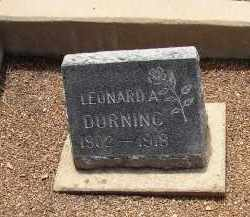 DURNING, LEONARD - Lake County, Colorado | LEONARD DURNING - Colorado Gravestone Photos