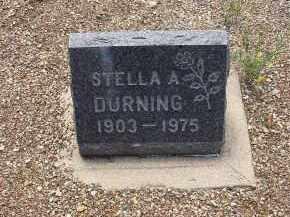 DURNING, STELLA A - Lake County, Colorado | STELLA A DURNING - Colorado Gravestone Photos