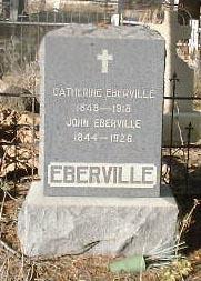EBERVILLE, JOHN - Lake County, Colorado | JOHN EBERVILLE - Colorado Gravestone Photos