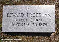 FRODSHAM, EDWARD - Lake County, Colorado | EDWARD FRODSHAM - Colorado Gravestone Photos