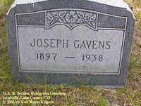 GAVENS, JOSEPH - Lake County, Colorado   JOSEPH GAVENS - Colorado Gravestone Photos