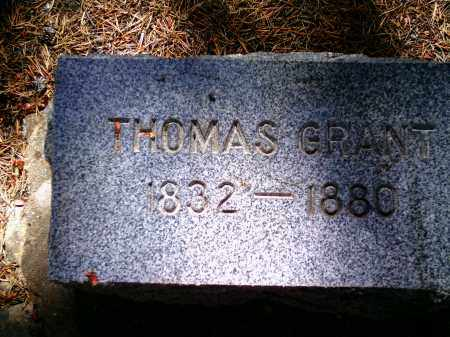 GRANT, THOMAS - Lake County, Colorado | THOMAS GRANT - Colorado Gravestone Photos