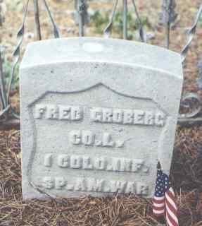 GROBERG, FRED - Lake County, Colorado | FRED GROBERG - Colorado Gravestone Photos