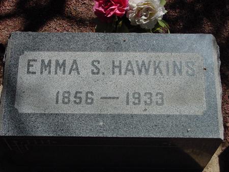 HAWKINS, EMMA - Lake County, Colorado | EMMA HAWKINS - Colorado Gravestone Photos